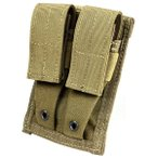 FLYYE MOLLE Double 9mm Mag Pouch CB