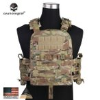 """Crye Precision NCPC(NAVY CAGE Plate Carrier)タイプ プレートキャリア (Multicam """"マルチカム 迷彩"""") [実物生地使用]"""