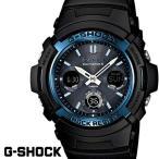 ショッピングG-SHOCK G-SHOCK ジーショック gーshock 腕時計アナデジ ソーラー 電波 ブラック ブルー AWG-M100A-1A gshock CASIO カシオ ソーラー電波