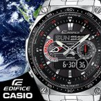 CASIO EDIFICE 腕時計 エディフィス 電波 ソーラー メンズ 腕時計 うでどけい 世界6局受信電波時計