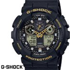 ショッピングShock G-SHOCK カシオ Gショック GA-100GBX-1A9 ブラック ゴールド CASIO G−SHOCK ジーショック 腕時計 アナデジ うでどけい