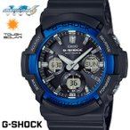 ショッピングShock CASIO G-SHOCK 電波ソーラー GAW-100B-1A2 Gショック アナログ デジタル 腕時計 メンズ ブラック 電波 ソーラー  カシオ