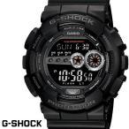 ショッピングg-shock ブラック CASIO G-SHOCK ジーショック メンズ 腕時計  GD-100-1B ブラック LEDバックライト