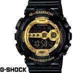 G-SHOCK Gショック ジーショック 腕時計 メンズ 海外モデル GD-100GB-1 OUTLET ブラック ゴールド 黒 金