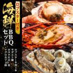 バーベキューセット 海鮮 BBQ セット( ロブスター 半割4本 サザエ 5個 ホタテ片貝 10枚 マグロカマ2個 )