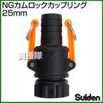 NGカムロックカップリング 25mm 1インチ スイデン
