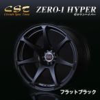CST 18インチ 9.5J +15 ZERO-1 HYPER ゼロワンハイパー ホイール 2本セット フラットブラック