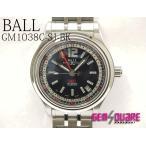 BALL ボールウォッチ トレインマスターGMT 美品 中古 腕時計 GM1038C-SJ-BK(質屋出店)