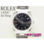 ROLEX ロレックス エアキング 男 腕時計 P番 黒 中古 14000(質屋出店)