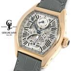 カルティエ トーチュXL パーペチュアルカレンダー w1580003 K18PG/革 スケルトン メンズ 腕時計