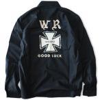 WEIRDO/ウィア-ド GENBA 13TH ANNIVERSARY LIMITED L/S - shirts - BK/ 当店限定 アイアンクロス ワークシャツ ブラック / GLAD HAND グラッドハンド
