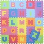 キッズパズルマット26枚セット アルファベット fj-10411  /ラグ/カーペット/絨毯/マット/