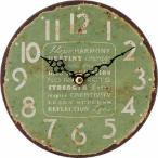 アンティークスタンドクロック グリーン fj-21922--1380