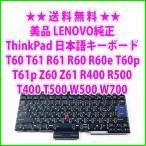送料無料 ! 美品 Lenovo純正 ThinkPad T60 T61 R61 R60 R60e T60p T61p Z60 Z61 T400 T500 R400 R500 W500 W700 日本語キーボード