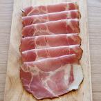 黒胡椒をまぶした、風味豊かなドイツ風肩ロースハム。  お肉をソミュール液に漬け込み、熟成させること10日間。 お肉の旨味が染...