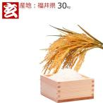 新米28年産 福井県産 コシヒカリ 玄米 30kg 送料無料 ※精米選択可 (464)