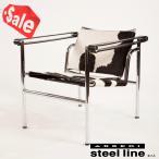 *週末限定セール* ル・コルビジェ LC1ポニースキン スリングチェア スティールライン社DESIGN900 (steelline)