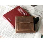 送料無料 SETTLER セトラー 正規販売 サイドコインウォレット OW1902-BROWN PURSE WALLET 財布 サイフ レザー