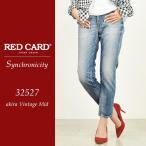 レッドカード RED CARD シンクロニシティ Synchronicity ボーイフレンド クロップド デニムパンツ ジーンズ レディース REDCARD 32527