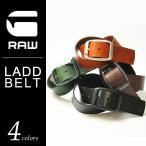ジースターロウ G-STAR RAW ラッドベルト LADD BELT メンズ レザーベルト D04168.3127 本革ベルト プレゼント ラッピング