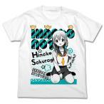 ひなこのーと 桜木ひな子 Tシャツ WHITE-S