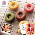 カリーノ カラフル焼ドーナツ 5個 引換券 A3パネル