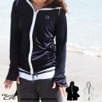 ショッピングラッシュ ラッシュガード レディース 水着 体型カバー 長袖 大きいサイズ 日焼け対策