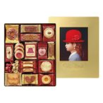 赤い帽子 クッキー詰合せ ゴールド (のし・包装・手提袋無料)