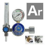 送料無料 アルゴンガス レギュレター ガスメーター 圧力調整 TIG 溶接 圧力計 流量計 25Mpa 25L/分 _75143