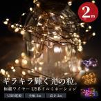 イルミネーション LED ジュエリーライト 200球 3M×2m 室内用 リモコン付き 点灯切り替え クリスマス 飾り付け 装飾 ワイヤーイルミ @76196