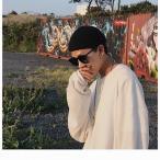 ニット帽 浅め 韓国 無地 メンズ レディース ストリート ビーニー ワッチキャップ ニットキャップ オールシーズン シンプル 男女兼用 ストリート系 黒