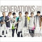 GENERATIONS from EXILE TRIBE/SPEEDSTER(初回生産限定盤/CD+3Blu-ray+スマプラ)(CD)