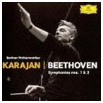ヘルベルト・フォン・カラヤン(cond)/ベートーヴェン:交響曲 第1番・第2番(初回限定盤/プラチナSHM)(CD)