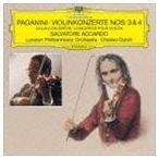 サルヴァトーレ・アッカルド(vn)/パガニーニ:ヴァイオリン協奏曲第3番・第4番(CD)