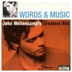ジョン・メレンキャンプ/ワーズ・アンド・ミュージック:ジョン・メレンキャンプ・グレイテスト・ヒッツ(SHM-CD)(CD)