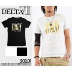 メール便送対応 メンズ Tシャツ ブランドロゴデザイン半袖Tシャツ ホワイト×ゴールド ブラック×ゴールドRCP SOUL JAPAN ソウルジャパン メンズ ナックル