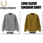 FRED PERRY (フレッド ペリー) LONG SLEEVE GINGHAM (ロングスリーブ ギンガム) ギンガムチェック ボタンダウンシャツ