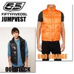 """55DSL (フィフティーンファイブディーエスエル) """"JUMPVEST JACKET"""" (ジャンプベスト) ダウンベスト"""