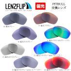 LenzFlip Oakley PITBULL 交換レンズ 偏光レンズ オークリー ピットブル