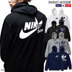 ストリート大人気ブランド パーカー NIKdas ナイダス ハーフロゴ 背中ロゴ パロディ 韓国 コラボ ペアルック 可愛い hoodie デザイン ユニセックス 男女共用