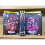 DVD 機動戦士ガンダム THE ORIGIN 1〜6巻(5巻欠品) 5本セット レンタル落ち ZM1316