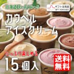 北海道 カウベルアイスクリーム (15個入)80ml