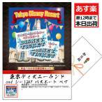 Disney 王様のご褒美 A4パネル付き目録&商品引換券 東京ディズニランド and シー1DAYパスポート ぺアチケット