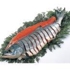 ( 産地直送 お取り寄せグルメ ) 北海道雄武産 特選新巻鮭 (姿造り切り身)