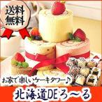 北海道DEろ〜る ギフトセット ロールケーキ 詰合せ お菓子 パーティー お祝い