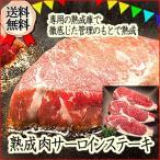 熟成肉サーロインステーキ用肉 510g 牛肉