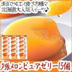 北海道 名物 ホリ 夕張メロン ピュアゼリー 15個入 ギフト セット スイーツ デザート