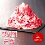 ギフト ケンボロー芙蓉ポーク切り落とし 切り落とし肉 200g×5 計1kg 豚肉 冷凍 真空包装 贈り物 お取り寄せグルメ 送料無料 IW20S159 高級 父の日 2021
