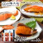 ギフト 食べ物 煮魚 焼き魚セット 10切 鳥取 山陰大松 お取り寄せ 冷凍 詰め合わせ レンジ お祝い お取り寄せグルメ 食品 送料無料 SK1223 高級 母の日 2021