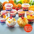 お歳暮 ギフト プレゼント しろくま アイス 鹿児島 南国白くまDX 2種計8個 スイーツ アイスクリーム 詰め合わせ フルーツ 取り寄せ 送料無料 SK1715